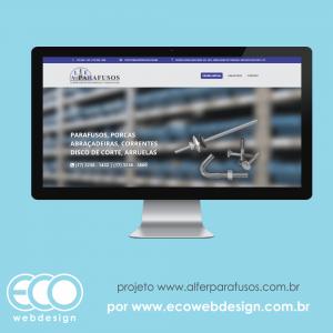 57a44f30d16 Imagem de • Website institucional com catálogo de produtos e banner  interativo • Alfer Parafusos -