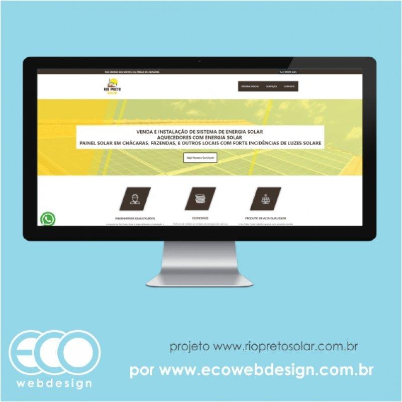 Imagem de Acesse <a href='https://www.riopretosolar.com.br/' target='_blank'>https://www.riopretosolar.com.br/</a> • Site institucional para empresa de venda e instalação de sistemas de energia solar-  Rio Preto Solar.