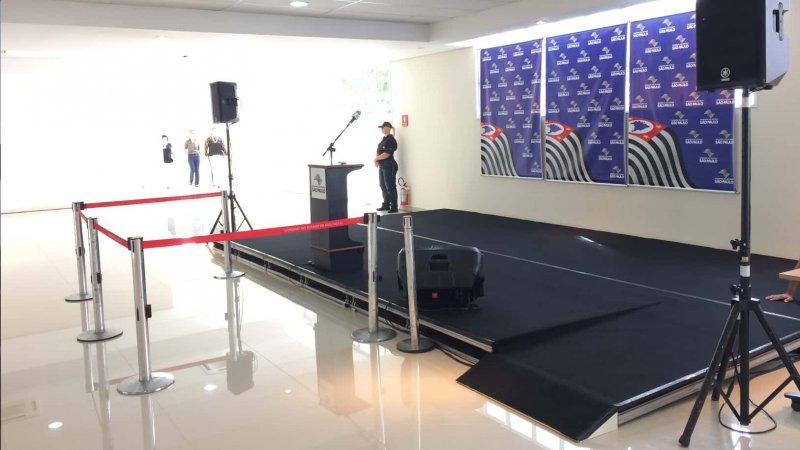 Imagem de Inauguração auditório FAMERP