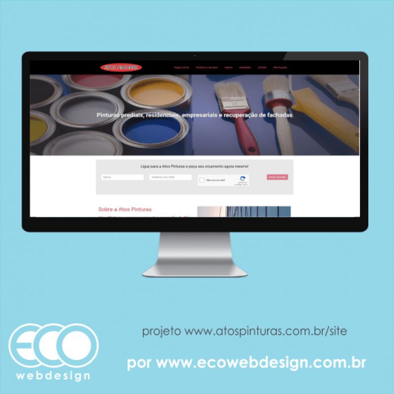 Imagem de Acesse <a href='http://www.atospinturas.com.br/site' target='_blank'> https://www.atospinturas.com.br/site</a> • Site institucional de empresa do mercado de pintura de prédios, casas e afins - Atos Pinturas.