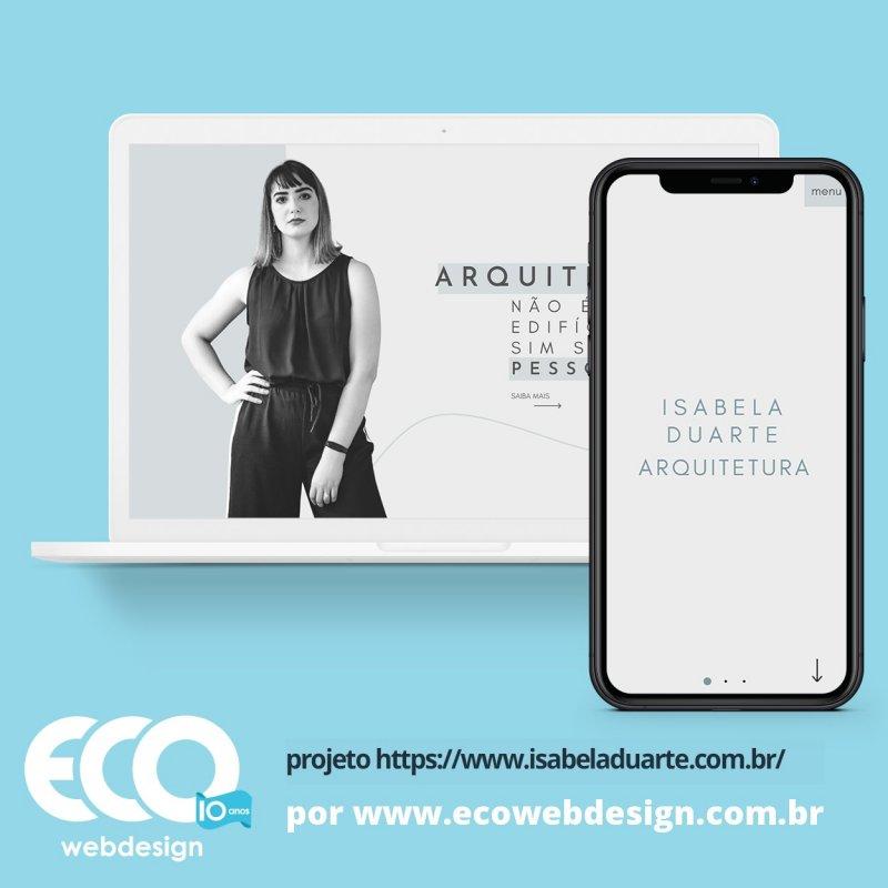 Imagem de Acesse <a href='https://www.isabeladuarte.com.br/'  target='_blank'>   https://www.www.isabeladuarte.com.br  </a>  • Site institucional para empresa de arquitetura - Isabela Duarte
