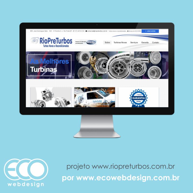 Imagem de Acesse <a href='http://www.riopreturbos.com.br' target='_blank'>riopreturbos.com.br</a> • Website para divulgação e capitação de cliente • Rio Preturbos - Turbos novos e recondicionados