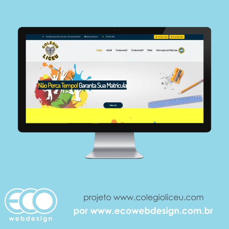Imagem de Acesse <a href='http://www.colegioliceu.com' target='_blank'>colegioliceu.com </a>• Website institucional da Escola • Colégio Liceu - Escola Infantil, Fundamental I, Fundamental II e Médio.