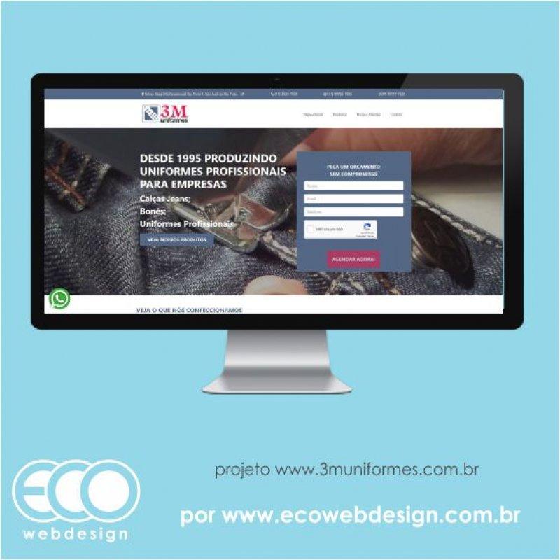 Imagem de Acesse <a href='https://www.3muniformes.com.br/' target='_blank'> https://www.3muniformes.com.br</a> • Site institucional para empresa de confecção de uniformes - 3M Uniformes.