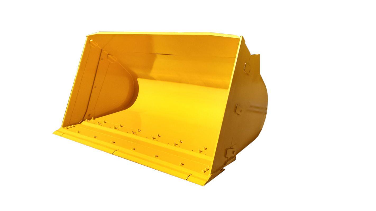 Caçamba carregadeira de bagaço alongada para máquinas pesadas
