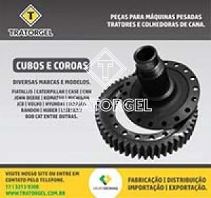 Imagem de Peças para maquinas pesadas, tratores e colhedoras de cana